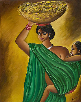 Mother and Child by Sweta Prasad