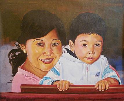 Xafira Mendonsa - Mother and Child