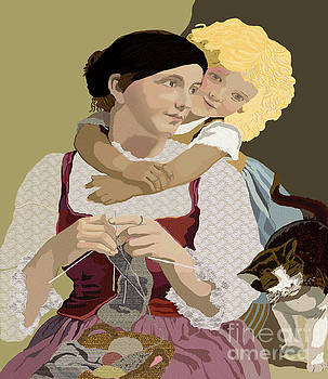 Kate Farrant - Mother and Daughter