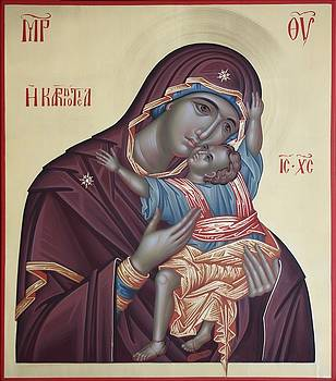 Mother of God Kardiotisa by Daniel Neculae