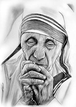 Mother Teresa by Emhi Artem