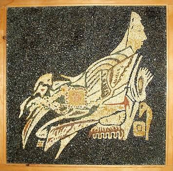 mother.p. II -Sphinx bird by Boyka Zaharieva