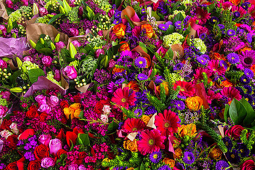 Mother's Day Flowers by Garry Gay