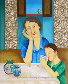 Mother's Lament by Miriam Besa