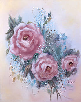 Mother's Roses by Jan Holman