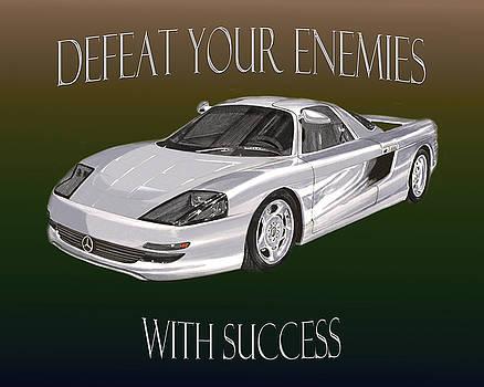 Jack Pumphrey - Motivational Mercedes Benz Poster