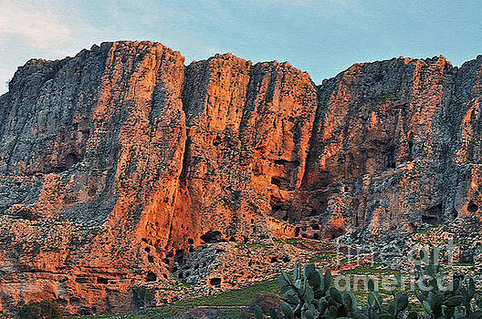 Mount Arbel 3 by Lydia Holly