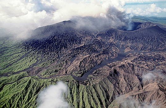 Sami Sarkis - Mount Bembow an active volcano on the island of Ambrym