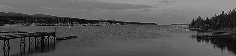 Juergen Roth - Mount Desert Island Black And White Panorama
