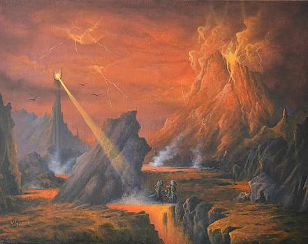 Mount Doom The Eye of Sauron by Joe  Gilronan