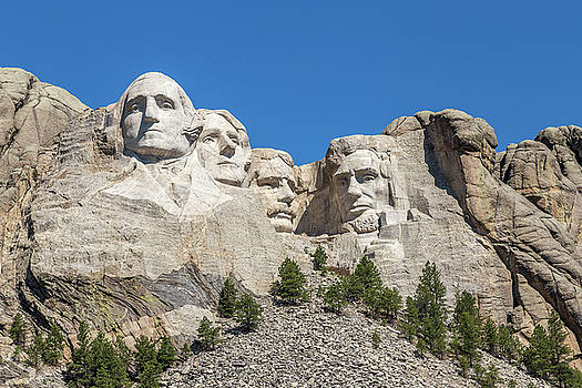 Mount Rushmore by Penny Meyers