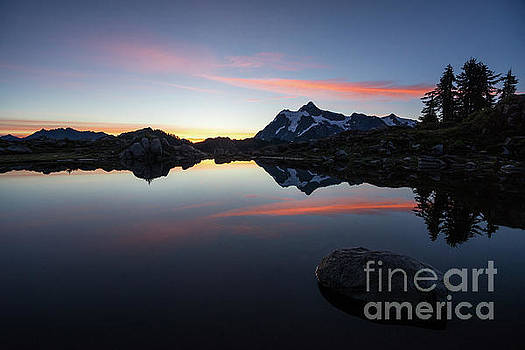 Mount Shuksan The Rock and the Fire by Mike Reid