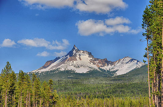 Mount Thielsen - Near Crater Lake - Oregon by Bruce Friedman