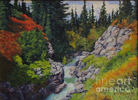 Mountain Creek by Jim Krug