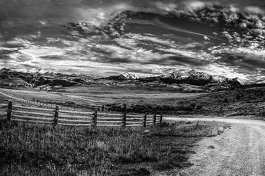 Mountain Driveway by Andrew Soundarajan