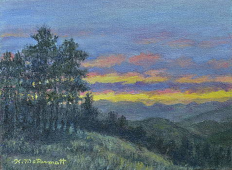 Mountain Dusk by Kathleen McDermott