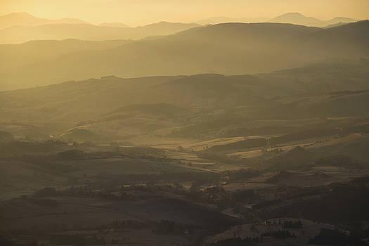 Mountain Horizon In The Morning by Zeljko Dozet