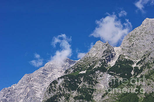 Mountain Impressions at Lake Koenigssee by Angela Doelling AD DESIGN Photo and PhotoArt