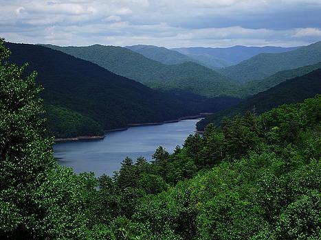 Mountain Lake by Cathy Harper