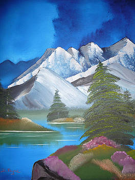 Mountain Lake by Debbie Payne