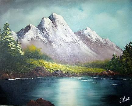 Mountain Lake by Debra Campbell