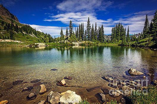 Mountain Lake by Joan McCool