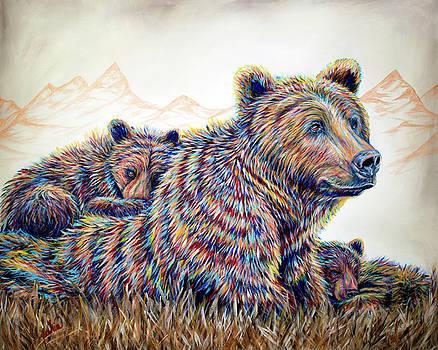 Mountain Living 2 by Teshia Art
