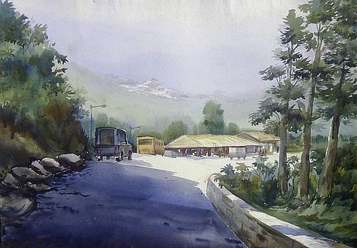 Mountain Path by Samiran Sarkar