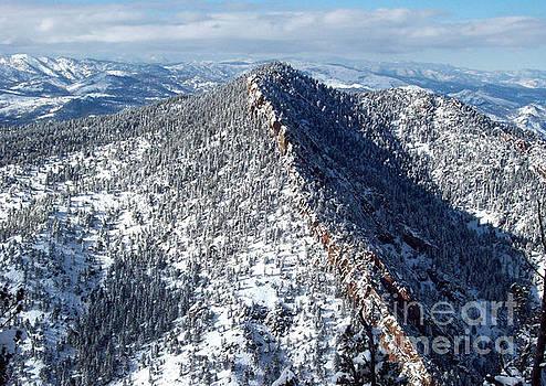 Mountain Peaks in Boulder by Daniel Larsen