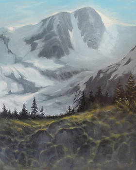 Mountain Peaks by Marte Thompson
