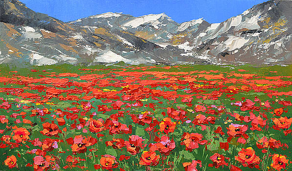 Mountain poppies   by Dmitry Spiros