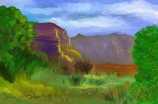 Mountain Range by Deborah Rosier
