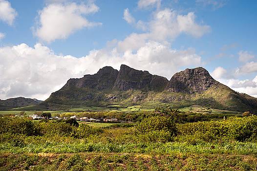 Jenny Rainbow - Mountain Range in Mauritius
