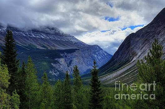 Mountain Ranges South of Jasper by W