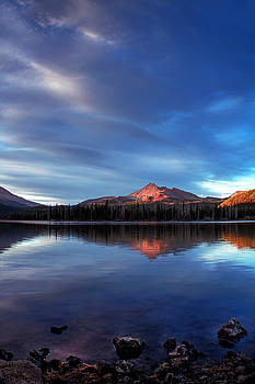 Mountain Reflection by Tyra OBryant