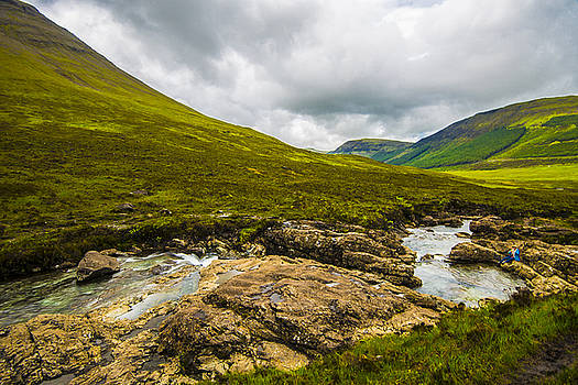 Mountain River by Steven Ainsworth
