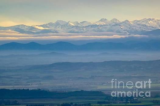 Mountain Scenery 11 by Jean Bernard Roussilhe