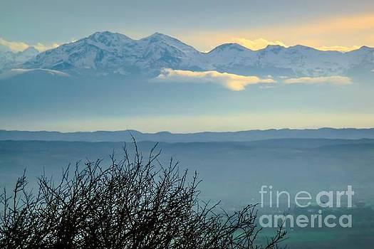 Mountain Scenery 14 by Jean Bernard Roussilhe