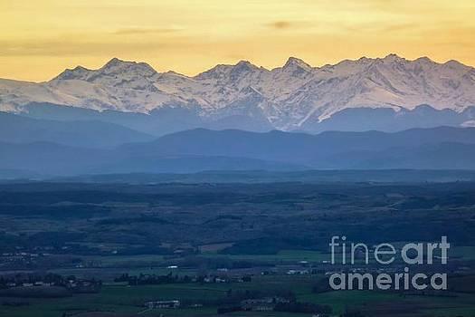 Mountain Scenery 15 by Jean Bernard Roussilhe