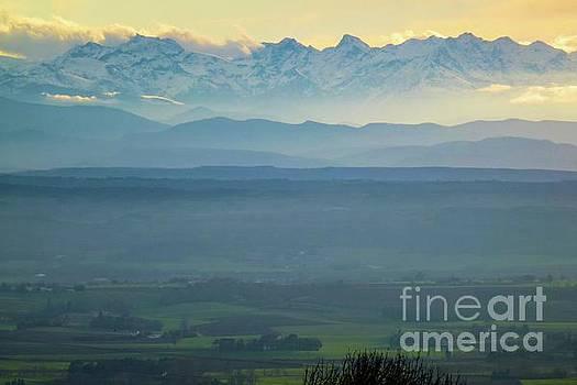 Mountain Scenery 18 by Jean Bernard Roussilhe