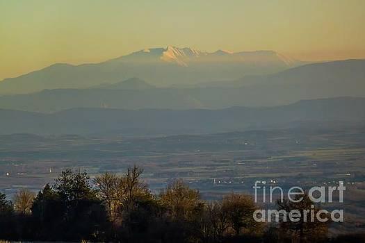 Mountain Scenery 8 by Jean Bernard Roussilhe