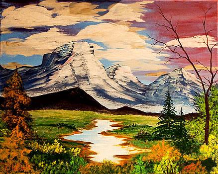 Mountain Serenity by J Ringo
