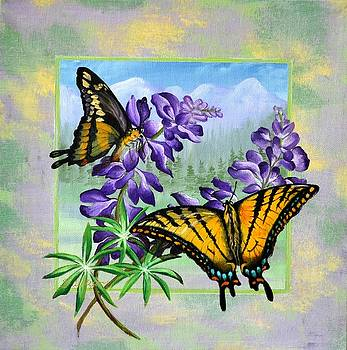 Mountain Swallowtail by Sherry Cullison