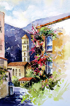 Mountain Town, Spain by Rae Andrews