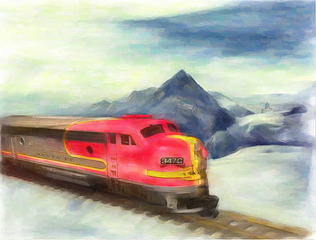 Mountain Train by Michael Cleere