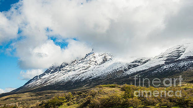 Mountain View Patagonia Chile by Jim DeLillo