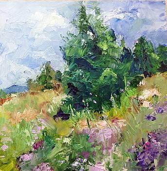 Mountain Wildflowers by Carol Hopper