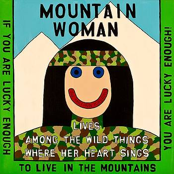 Mountain Woman by MaryAnn Kikerpill
