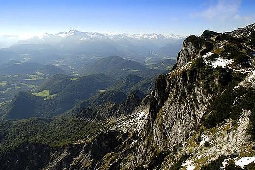 On top of the Untersberg by Brenda Kean