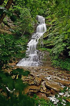 Mountaintop Falls by Lj Lambert